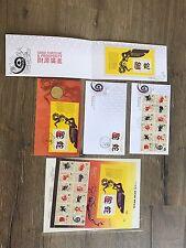 Australia Chinese Lunar Year Snake 2013 First Day Envelope Coin Zodiac Sheet