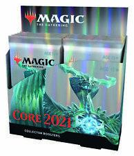Magic The Gathering Core Set 2021 coleccionista Booster Box-M21! totalmente Nuevo! 12 Packs