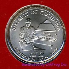 2009 P & D District of Columbia Quarters Gem Bu from mint sets No Reserve