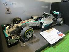 F1 MERCEDES AMG GP ABU DHABI 2014 HAMILTON o 1/18 MINICHAMPS 110140644 formule 1