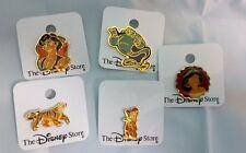 The Disney Store Original Aladdin Pin Series 1993 - NOC- Rare and HTF
