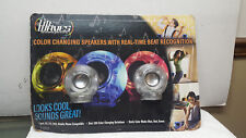 LITE WAVES COLOR CHANGING SPEAKERS WITH REAL TIME BEAT RECOGNITION / NEW !!