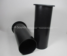 "2pcs HIVI Speaker Port Tubes Bass Vent For Universal 10""-15"" Speakers 100X255mm"