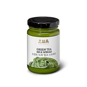 [OSULLOC] Korea JEJU Green Tea Milk Spread Jam Cream 200g