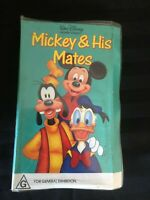 WALT DISNEY HOME VIDEO - MICKEY AND HIS MATES VHS