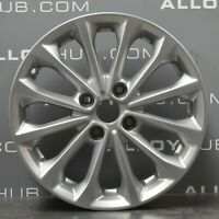 "GENUINE FORD FIESTA MK7 16"" INCH 12 SPOKE SILVER SINGLE ALLOY WHEEL X1"