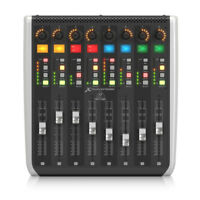 Behringer X-TOUCH EXTENDER with 8 Touch-Sensitive Motor Faders New