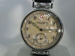GARGANTUAN MAGNIFICENT  POCKETWATCH CONVERSION with HANDSOME DIAL