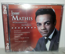 2 CD JOHNNY MATHIS - WONDERFULLY FAITHFULL - SEALED SIGILLATO