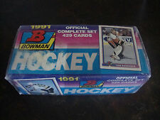 1991-92 Bowman Hockey---Complete Set---Factory Sealed---1-429---Mint