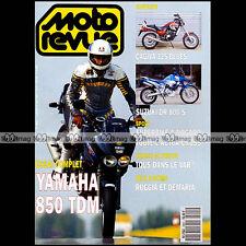 MOTO REVUE N°2991 YAMAHA TDM 850 SUZUKI DR 800 S CAGIVA 125 BLUES ESQUIROL 1991