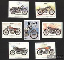 Norton 750 850 Commando P11 Navigator Atlas Trade Cards