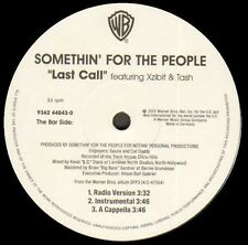 SOMETHIN' FOR THE PEOPLE - Take En Off , Ft. Luke / Last Call - Warner Bros