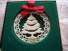 Lenox Yuletide Christmas Tree Ornament Mib