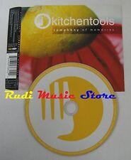CD Singolo KITCHENTOOLS Symphony of memories EXTRA LABEL 2001 NO mc lp dvd (S3)