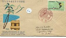 1963 JAPAN'S FDS - FAO FREEDOM FROM HUNGER # 615