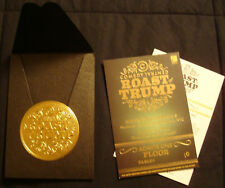 THE ROAST OF DONALD TRUMP COMEDY CENTRAL TICKET STUB + GOLD Book Seal Show STAR
