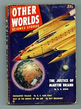 Other Worlds Pulp 1st Series #5 VG- 3.5 1950