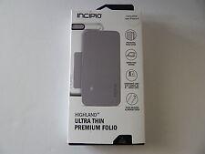 Incipio Highland Premium Folio Wallet Folio For iPhone 6 iPhone 6S White/Gray