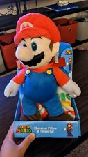 "Super Mario Character Throw Blanket Pillow Set. Brand New. 40""x50"""