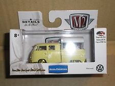 M2 Machines 1960 VW Double Cab Truck USA Model Gold Chase Walmart Auto-Thentics