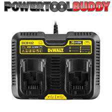 Dewalt DCB102 XR 10.8 -18volt Dual Port Charger With USB *Next Day Delivery*