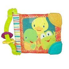Bright Starts Teethe & Read Unisex Soft Crinkle Baby Book Teething Toy 3m