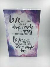 Greeting Card Inspirational, 'love Each Other Every Single Day'