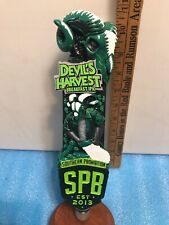 Southern Prohibition Devil'S Harvest Ipa beer tap handle. Mississippi
