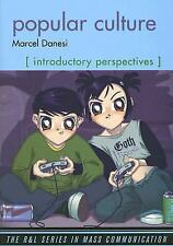 Popular Culture: Introductory Perspectives (The R&L Series in Mass Com-ExLibrary