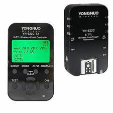 YONGNUO YN622C KIT Wireless i-TTL Flash Trigger Kit w LED Screen Canon YN622N-TX
