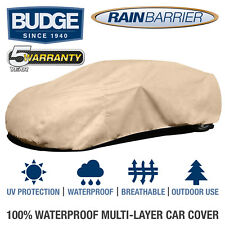 Budge Rain Barrier Car Cover Fits Sedans up to 19' Long| Waterproof | Breathable