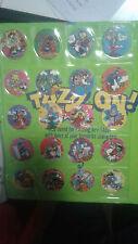 Looney Tunes Time Warp Tazos Set 201-220 Mint Condition Glow In Dark