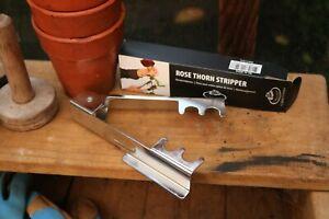 Metal Rose Thorn Stripper. Florist Tool. Cut Flowers, Allotment, Gardener Gift