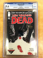 WALKING DEAD #63 CGC 9.6 (Fear the Hunters) Chew #1 WHITE PAGES!!