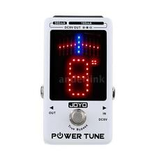 JOYO JF-18 Power Tune Multi Power Supply Chromatic Guitar Pedal Tuner H5F3