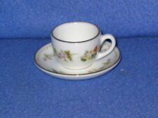 Wedgwood Mirabelle miniature cup and saucer