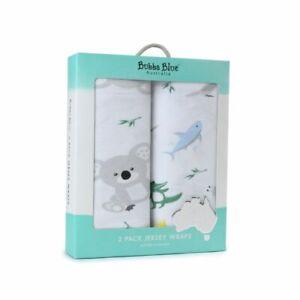 Bubba Blue Aussie Animal Jersey Wrap 2 Pack