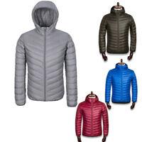 Men Feather Down Jackets Ultralight Hooded/collar Warm outwear M-3XL best Gifts