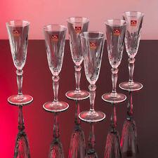 RCR 25600020006 Italian Crystal Melodia Champagne Flutes Set of 6 - XMAS SALE