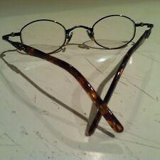 ARTIFACTS Eyeglasses RX Frames Tortoise Metal Round Full Rim 43x26x143 JAPAN