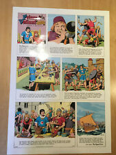 Harold, Hal Foster PRINCE VALIANT Proof Page 1966 Full Size syndicate proof rare
