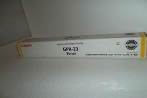 Canon GPR-33 Toner Cartridge Yellow 52K Page C7065 C7055 2804B003AA 2804B003 NEW
