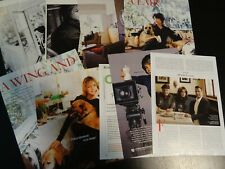 Stockard Channing  10 full pages  Clippings