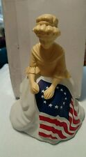 Vintage Avon Bottle Collectible Betsy Ross Figurine, Sonnet Cologne