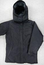 Eddie Bauer Goose Down Heavy Winter Jacket Parka (Womens Large) Black