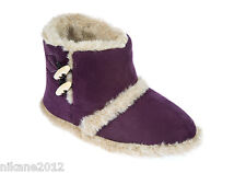 ladies coolers slipper boots size 3/4 5/6 7 8 girls/ premier bootee girls toggle