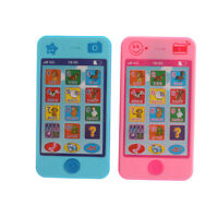 Bébé Langue Alphabet Musique Early Learning Machines Téléphone Portable Jouet FE