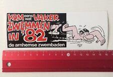 Aufkleber/Sticker: Kom Eens Wat Vaker Zwemmen In '82 (150416145)