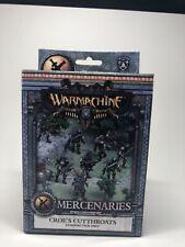 Mercenaries, Croe's Cutthroats Character Unit PIP 41123 NIB free Shipping